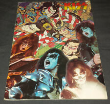 Kiss: 1977 Japan tour book/program complete U.S. seller