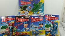 Matchbox thunderbirds rescue ships and figurines