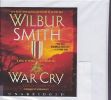 WAR CRY by WILBUR SMITH ~UNABRIDGED CD AUDIOBOOK