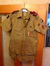 More details for vintage 1950s senior boy scouts shirt in very good condition british issued