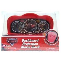 Disney Pixar Cars Dashboard Projection Alarm Clock - Cars Alarm Clock, New