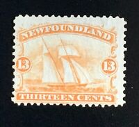 Canada Newfoundland Stamps. SC 30. 1865. MH. **COMBINED SHIPPING**