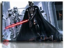 Framed Canvas Picture Print of Darth Vader Star Wars Ready to Hang