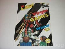 Virgin Games Winter '83 ~ Brochure ~ Advertising ~ A4 Size