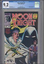 Moon Knight #35 CGC 9.2 1984 Marvel Comics X-Men, Fantastic Four & Human Fly App