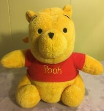 Winnie The Pooh Musical Baby Pull Crib Plush Toy Stuffed Animal 8.5""