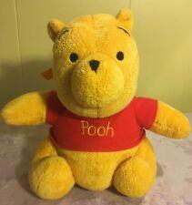 "Musical Winnie The Pooh Baby Pull Crib Plush Toy Stuffed Animal 8.5"""