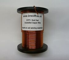 1.60mm - ENAMELLED COPPER WINDING WIRE, MAGNET WIRE, COIL WIRE - 125 Gram Spool