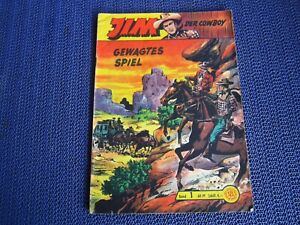 Jim der Cowboy Band 1 / Original Lehning Verlag (Akim Sigurd Bill Falk )