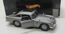 Aston Martin DB5 ( Bond 1963 ) Goldfinger / Hot Wheels 1:18