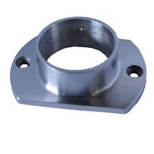 Stainless Steel 316 Oblong 50.8mm Handrail Flange Satin Finish