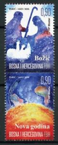 Bosnia & Herzegovina Christmas Stamps 2020 MNH New Year Nativity 2v Set