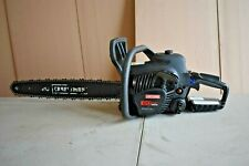 CRAFTSMAN 50-cc 2-Cycle Gas Chainsaw 20 In. Bar and Chain - Free Case - READ