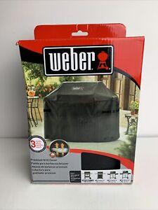 Weber 7139 Premium Grill Cover for Spirit II 300 & Spirit 200, 300 Series Black