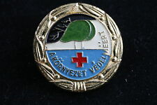 Hungary Hungarian Protect the Environment Red Cross Ecology Health pin Badge