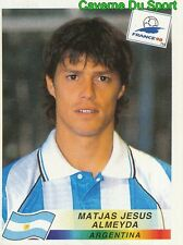 506 MATJAS JESUS ALMEYDA ARGENTINA VIGNETTE STICKER WORLD CUP FRANCE 98 PANINI
