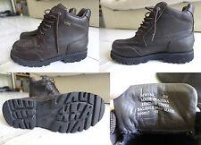 Boots homme Rockport neuves, taille 43 (9 UK) marron foncé Goretex neuves