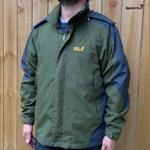 Men Jack Wolfskin Jacket Breathable Texapore Waterproof XL