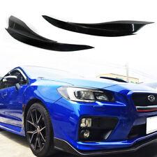 Fit For Subaru WRX STI 15-20 4DR Front Headlight Eyelids Eyebrow Cover UnPaint
