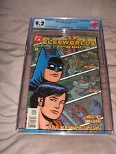 ELSEWORLDS 80 PAGE GIANT 1 CGC 9.2 WHITE PAGES RECALLED EDITION RARE