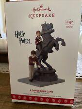 "2017 Hallmark Keepsake  Harry Potter QXI2962 ""A Dangerous Game"" Ornament"