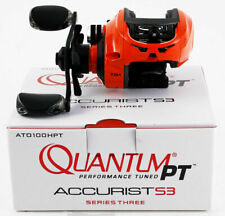 QUANTUM PT ACCURIST S3 ATO100HPT 7.0:1 RIGHT HAND BAITCAST REEL NIB