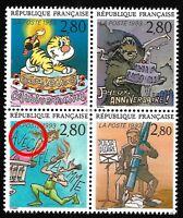 """Timbres France Neufs 1993 Variété N°2840b """"Accent sur le E de Avec"""""""