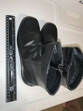 womens zipper ankle boot Ingaro size 8 new never worn black color Donnamet 18