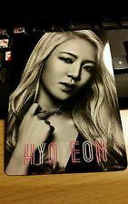 Snsd hyoyeon Japan tour jp official big photocard k-pop