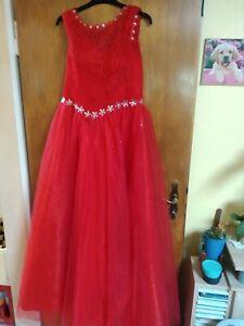 Brautkleid Rot