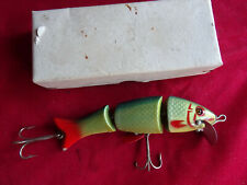 RARE EARLY MODEL VINTAGE D.A.M EVER READY JOINTED NOVUM WOBBLER DAM FISHING LURE
