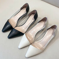 OL Chic Pumps Slim heels women's shoes lady's transparent shoes sandals summer