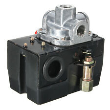 Heavy Duty Pressure Switch Control Valve Air Compressor 90-120PSI 4 Port 26 AMP