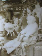 Photo presse vintage Retour des vacances gare de Lyon 1963