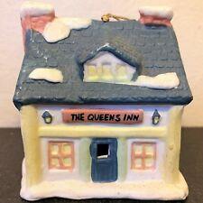 1991 Readers Digest Queens Inn Ornament Bell Vintage Porcelain Christmas Tree