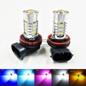 2pcs H11 15w High Power Bright Car LED Bulbs 5730 15-SMD Fog light/Driving Light