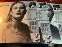 Taylor Swift - REPUTATION - Vinyl 2 LP Picture Disc Edition - NEW & SEALED! Rare