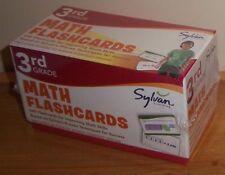 Sylvan Learning 3rd Grade Math Flash Cards Set of 240 Nib