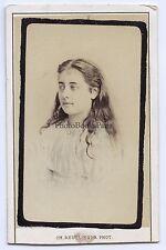 Pauline Lucca soprano Reutlinger Paris France Théâtre Opéra Cdv Vintage ca 1870