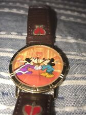 THE PRINCE AND THE PAUPER  MEN'S LEATHER WATCH LIMITED EDITION 3126/7500 works