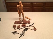 Vintage Louis Marx Daniel Boone Action Figure BROKEN ARMS W/ Accessories