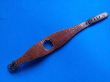 Bracelet de Montre Ancien Cuir JAEGER LECOULTRE / Antique Watch Bracelet