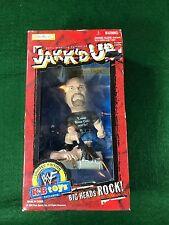 Jakks Pacific 1998 Jakk'd Up Stone Cold Steve Austin WWF Figurine Big Head - NIB
