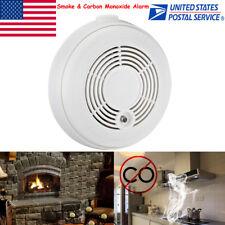 US Stock Combination Smoke & Carbon Monoxide Alarm CO &Smoke Detector 9V Battery