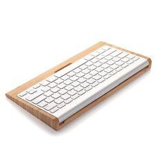 Wood Keyboard Stand Dock Holder For Mac Pro Wireless Bluetooth Keyboard NEW