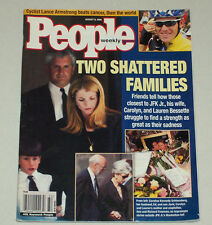 JFK JR KILLED LANCE ARMSTRONG PEOPLE MAGAZINE AUGUST 9 1999 VERY GOOD