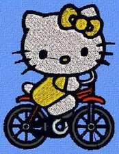 Disegno per macchina da Ricamo Hello Kitty 41 .pec, .pes, .vp3 .hus .jef