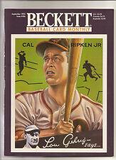Beckett Baseball Monthly Issue 126 September 1995 Cal Ripken Chipper Jones