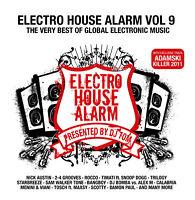CD Electro House Alarm Vol.9 di vari artisti 2CDs