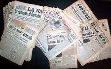 Quotidiani  Periodo Fascista -  Lotto 81 Numeri 1935-36 con mancanze vedi descr.